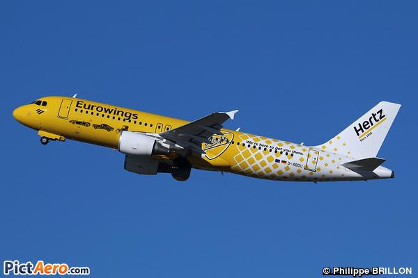 Airbus A320-214 (Eurowings)