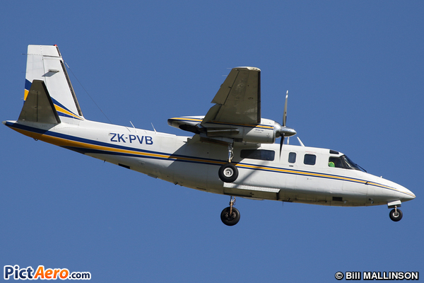 Rockwell 690A Turbo Commander (NZ Aerial Mapping)