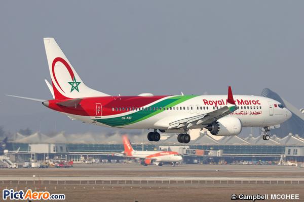 Boeing 737-8 Max (Royal Air Maroc (RAM))