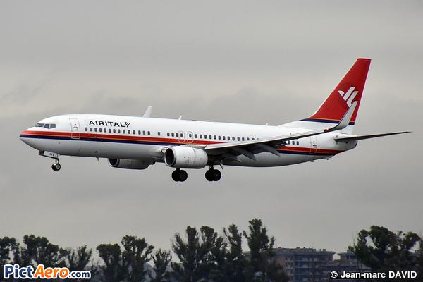 Boeing 737-85F/WL (AirItaly)