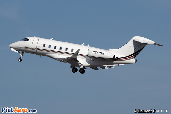 Bombardier BD-100-1A10 Challenger 300 (NET JETS EUROPE)