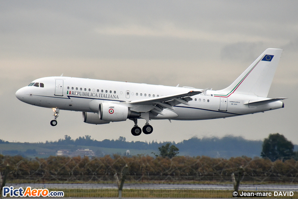 Airbus A319-112/CJ (Italy - Air Force)