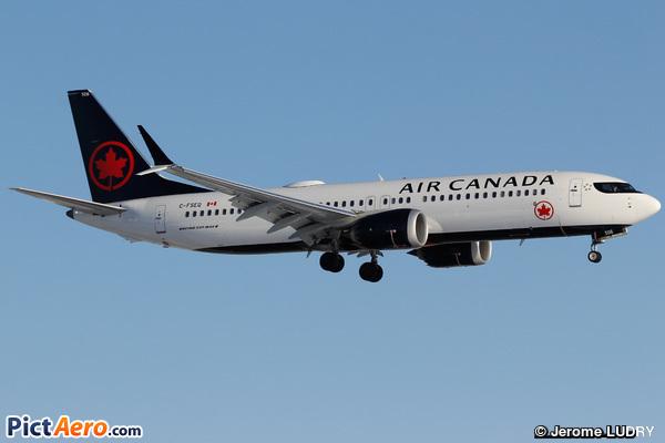 Boeing 737-8 Max (Air Canada)