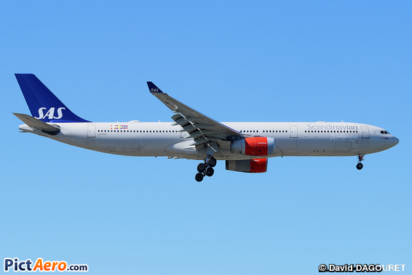 Airbus A330-343 (Scandinavian Airlines (SAS))