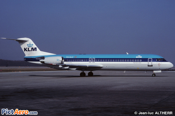 Fokker 100 (F-28-0100) (KLM Royal Dutch Airlines)