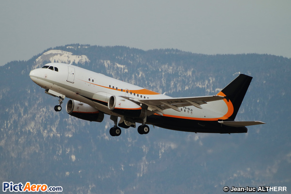 Airbus A319-133X/CJ (System Capital Management Aruba)