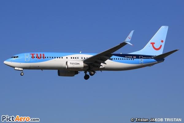 Boeing 737-8K5 (Thomson Airways)
