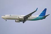 Boeing 737-8U3/WL (PK-GNU)
