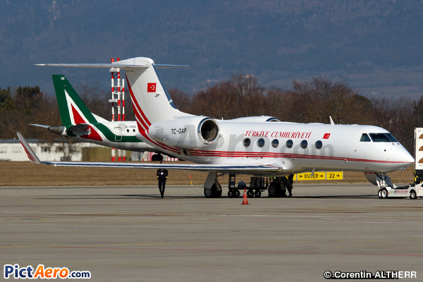 Gulfstream Aerospace G-IV Gulfstream IV (Turkey - Government)