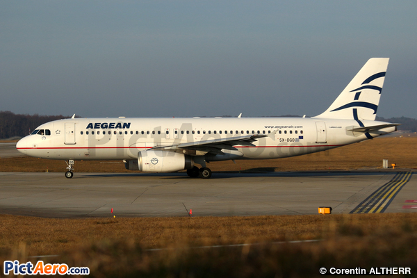 Airbus A320-232 (Aegean Airlines)