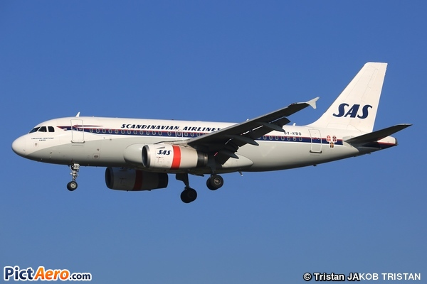 Airbus A319-132 (Scandinavian Airlines (SAS))