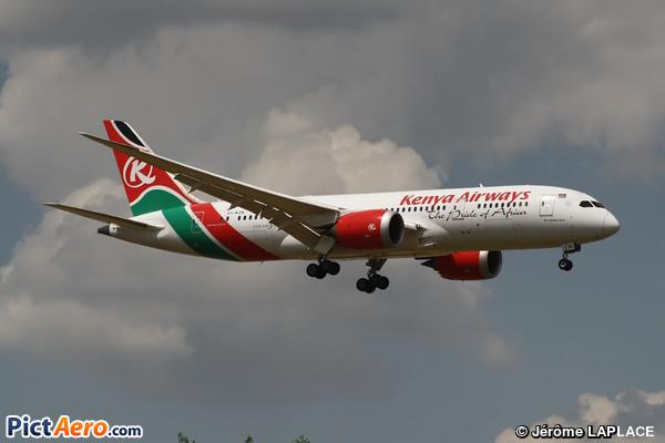 Boeing 787-8 Dreamliner (Kenya Airways)