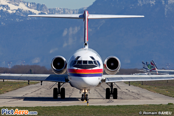 McDonnell Douglas MD-82 (DC-9-82) (Danish Air Transport (DAT))