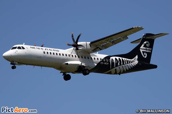 ATR 72-500 (ATR-72-212A) (Mount Cook Airline)