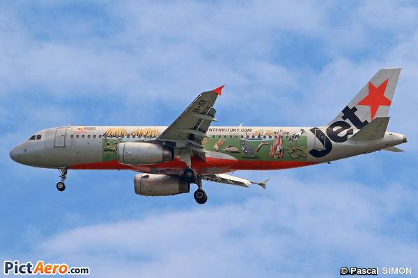 Airbus A320-232 (Jetstar Asia Airways)