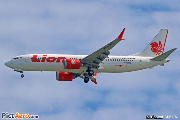 Boeing 737-8 Max (Lion Air)