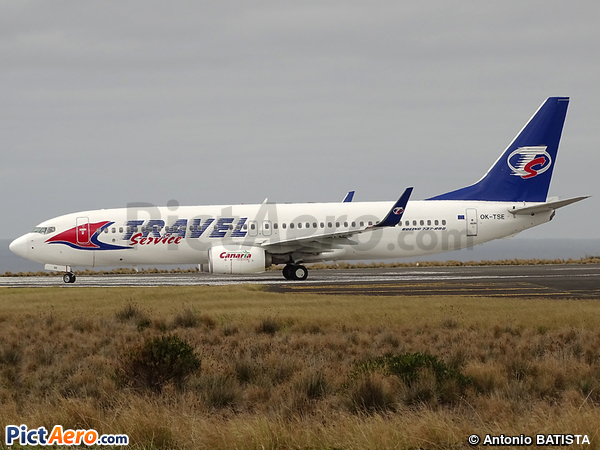 Boeing 737-81D (Travel Service)