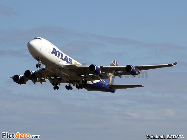 Boeing 747-47UF/SCD (Atlas Air)