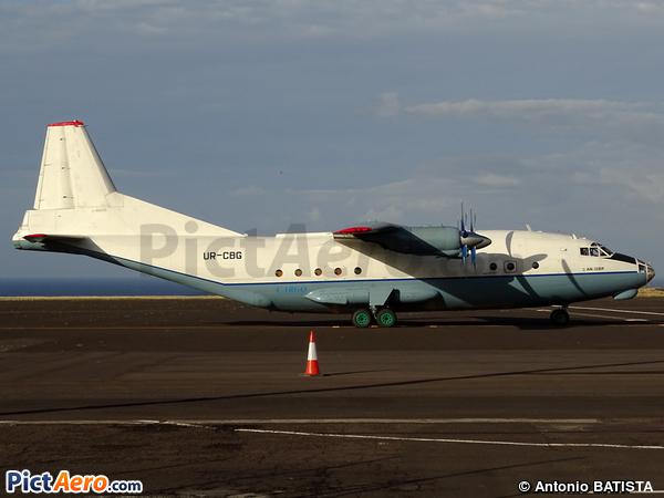 Antonov An-12BP (Aerovis Airlines)