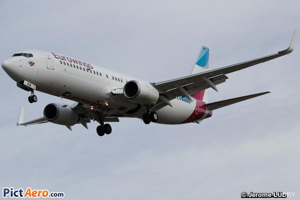 Boeing 737-86J/WL (Eurowings)