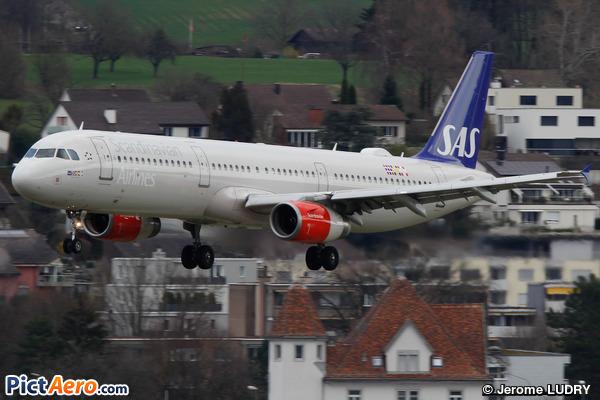 Airbus A321-231 (Scandinavian Airlines (SAS))