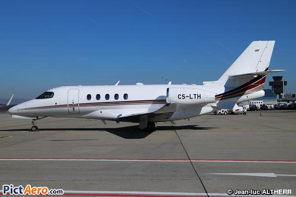 Cessna 680A Citation Latitude (NetJets Europe)
