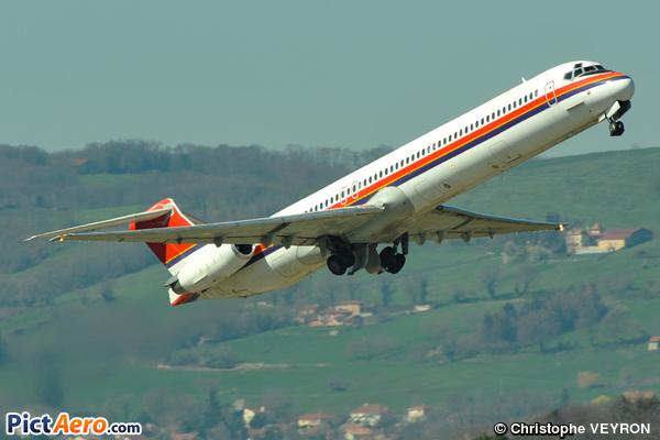 McDonnell Douglas MD-82 (DC-9-82) (Danish Air Transport (DAT))