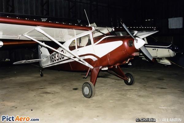 Piper PA-22-150 Tri-Pacer - N6830B (Détruit) by Christian
