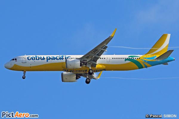 Airbus A321-271NX (Cebu Pacific Air)