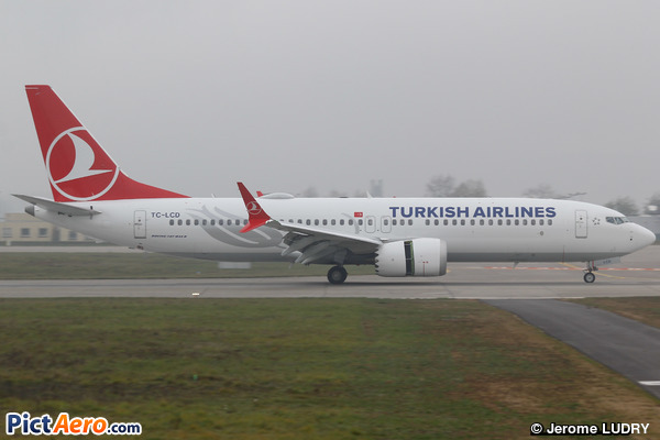 Boeing 737-8 Max (Turkish Airlines)