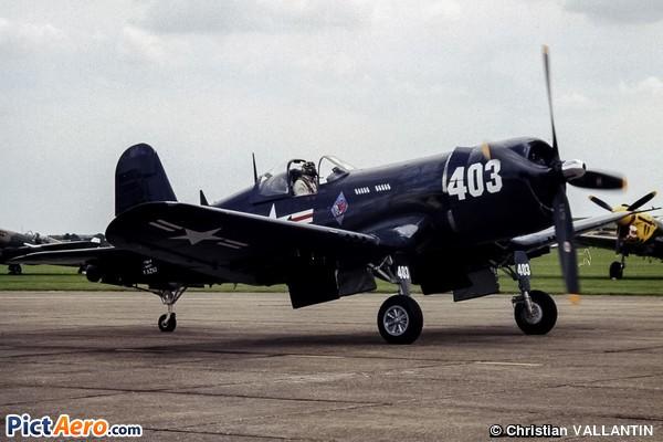 Vought F4U-4 Corsair (Corsair Warbird Limited Hangar Flying Legend SARL)