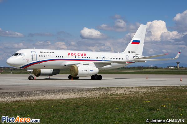 Tupolev Tu-204-300 (Russia - Government)