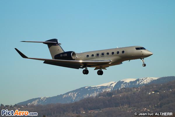 Gulfstream G650ER (Global Jet Austria)