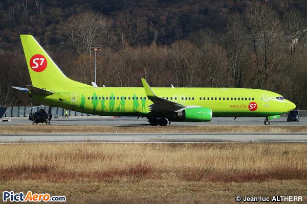 Boeing 737-86J/WL (S7 - Siberia Airlines)