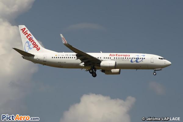 Boeing 737-86Q/WL (Air Europa)