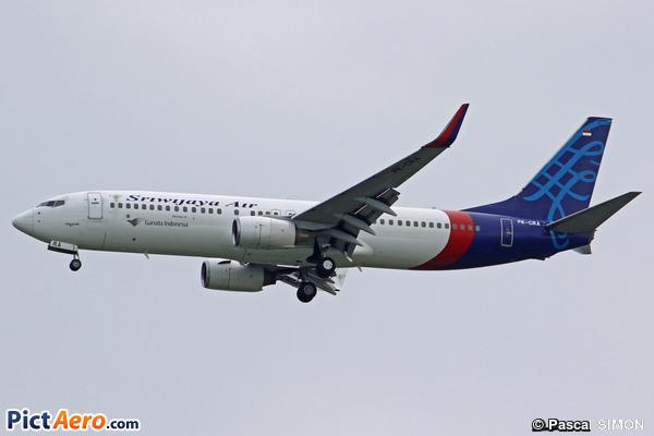 Boeing 737-86N/WL (Sriwijaya Air)
