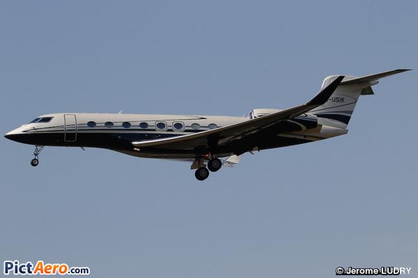 Gulfstream G650 (YYA Aviation Ltd)