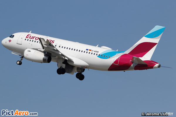 Airbus A319-132 (Eurowings)