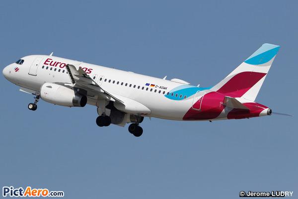 Airbus A319-132 (Eurowings)