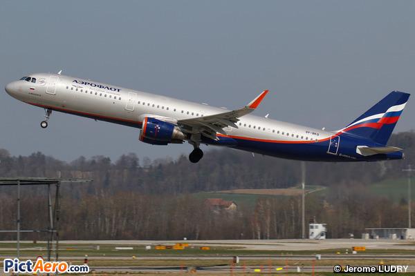 Airbus A321-211/WL (Aeroflot)