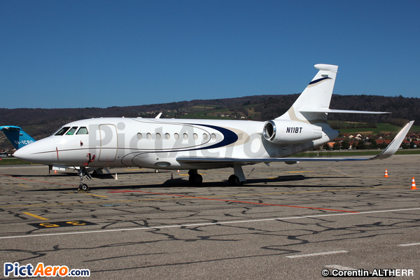 Dassault Falcon 2000EX (Union Credit Leasing Corp, Wilmington DE)