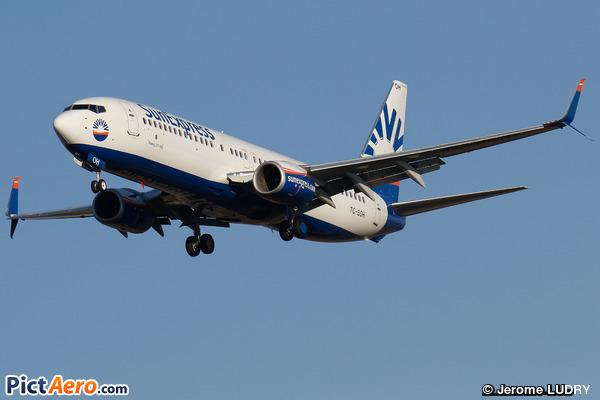 Boeing 737-8H6/WL (SunExpress)