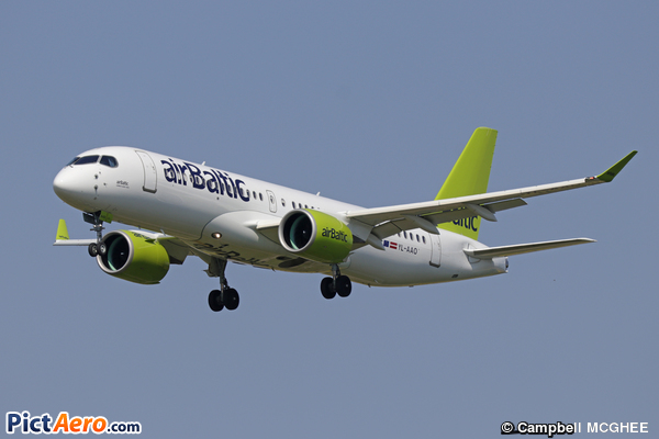 Airbus A220-300 (Air Baltic)