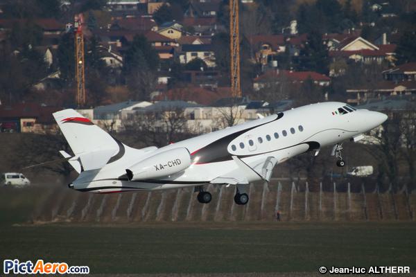 Dassault Falcon 2000LX (EOLO Plus SA de CV)