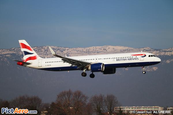 Airbus A321-251NX (British Airways)