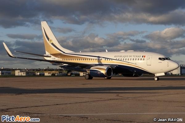 Boeing 737-74Q/BBJ (Tchad - République de Tchad)