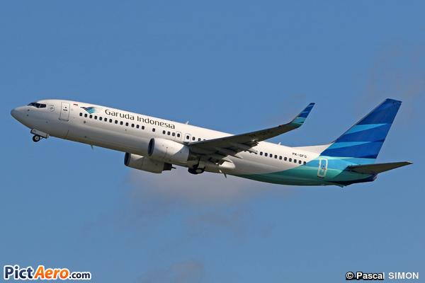 Boeing 737-8BK/WL (Garuda Indonesia)