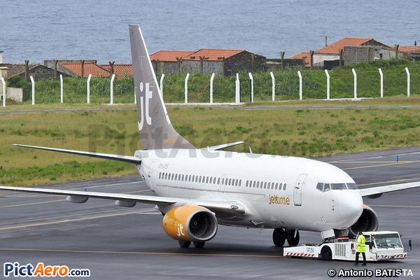 Boeing 737-7K2/WL (Jettime)