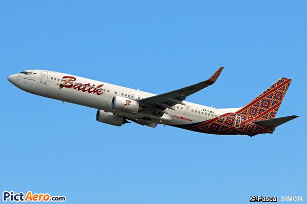 Boeing 737-9GP/ER (Batik Air)