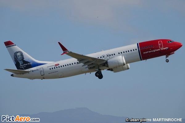 Boeing 737-8 Max (Norwegian Air International)